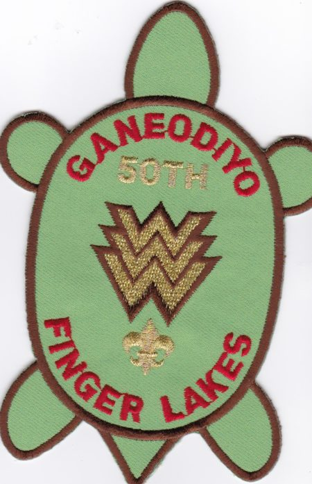 Ganeodiyo Lodge #417 50th Anniversary X5 Twill Left