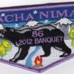 Nacha Nimat Lodge #86 2012 Banquet Flap eS2012