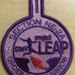 Section NE-2A 2018 Project LEAP Staff Pocket Patch