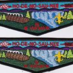Ho-De-No-Sau-Nee Lodge #159 Updated S35 and New Regular Issue Flap S61