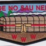 Ho-De-No-Sau-Nee Lodge #159 50th Anniversary Flap 1 of 4 S65