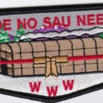 Ho-De-No-Sau-Nee Lodge #159 50th Anniversary Flap 2 of 4 S66