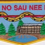 Ho-De-No-Sau-Nee Lodge #159 50th Anniversary Flap 3 of 4 S68
