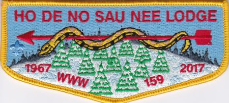 Ho-De-No-Sau-Nee Lodge #159 50th Anniversary Flap 4 of 4 S69