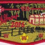 Ho-De-No-Sau-Nee Lodge #159 2016 Philmont Flap S71