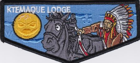 Ktemaque Lodge #15 2017 National Jamboree  Flap S71