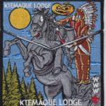 Ktemaque Lodge #15 2017 National Jamboree  Flap Set S72/X41