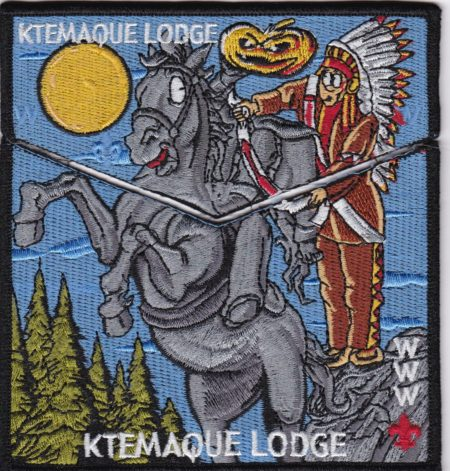 Ktemaque Lodge #15 2017 National Jamboree  Flap Set S72/X41