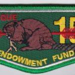 Ktemaque Lodge #15 Endowment Fund Flap S73