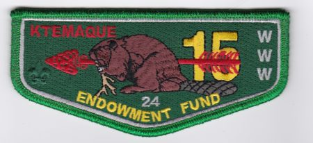 Ktemaque Lodge #15 Endowment Fund Numbered Flap S74