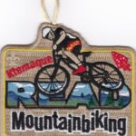 Ktemaque Lodge #15 Mountainbiking Patch X40