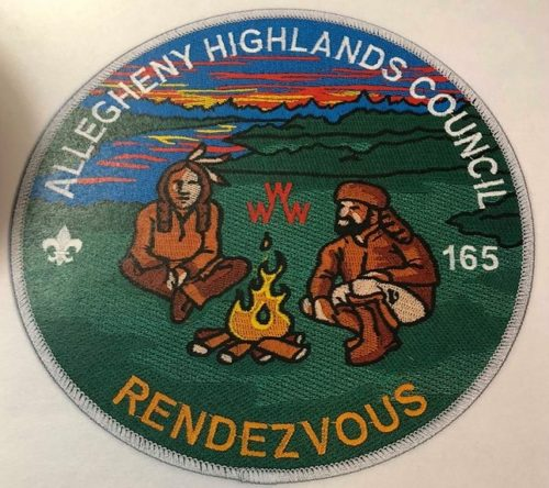 Ho-Nan-Ne-Ho-Ont Lodge #165 Rendezvous Jacket Patch J1