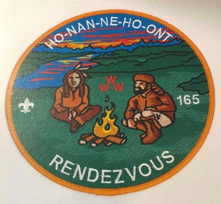 Ho-Nan-Ne-Ho-Ont Lodge #165 Rendezvous Jacket Patch J2