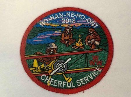 Ho-Nan-Ne-Ho-Ont Lodge #165 2018 Cheerful Service Round R4