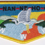 Ho-Nan-Ne-Ho-Ont Lodge #165 New Regular Issue Flap S45