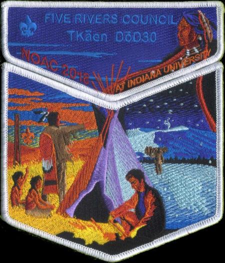 Tkaen DoD Lodge #30 2018 NOAC Delegate Set S46 X12