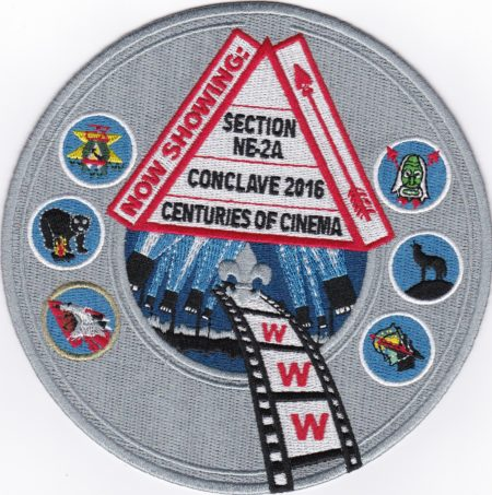 Section NE-2A 2016 Conclave Jacket Patch