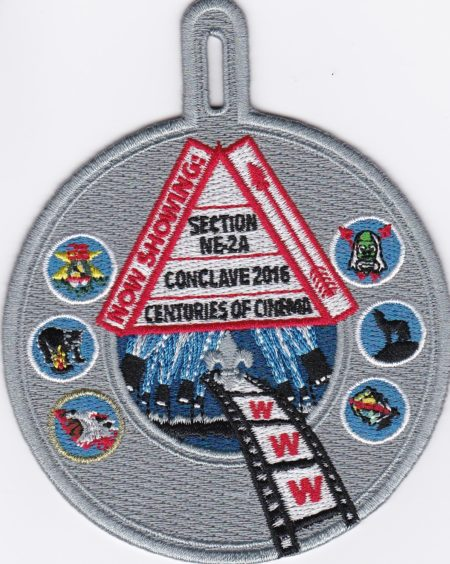 Section NE-2A 2016 Conclave Participation Patch