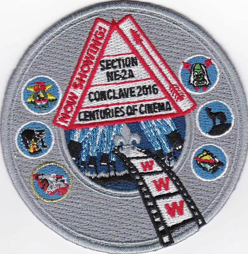 Section NE-2A 2016 Conclave Trading Post Patch