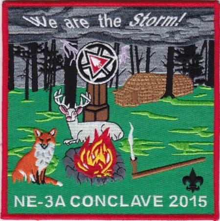 Section NE-3A 2015 Jacket Patch