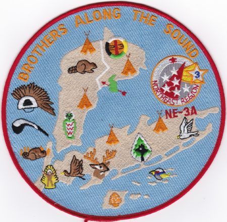 Section NE-3A Brothers Along the Sound Jacket Patch