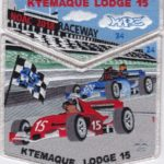 Ktemaque Lodge #15 2018 NOAC Numbered Set SMY Border S77 X44