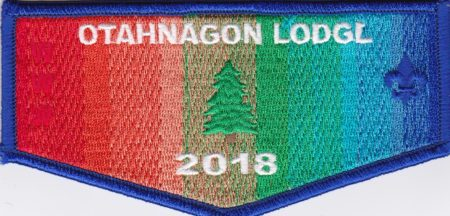 Otahnagon Lodge #172 2018 Flap S45