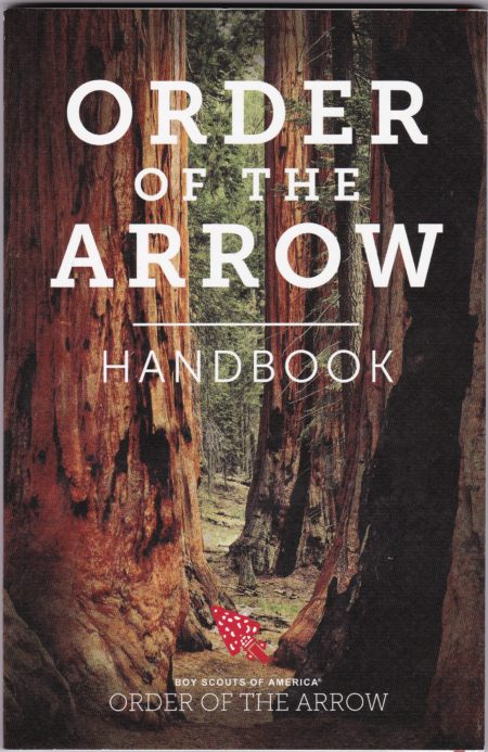 2017 Order of the Arrow Handbook Front Cover