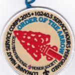 Lowanne Nimat Lodge #219 2016 Service Award White Border R2