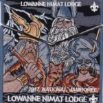 Lowanne Nimat Lodge #219 2017 Jamboree Set S34 X18 – Three Norse Gods