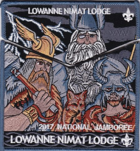 Lowanne Nimat Lodge #219 2017 Jamboree Set S34 X18