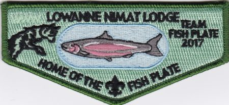 Lowanne Nimat Lodge #219 Home of the Fish Plate S38