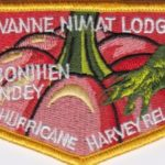 Lowanne Nimat Lodge #219 Hurricane Harvey Relief Flap S39