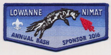 Lowanne Nimat Lodge #219 2016Banquet Sponsor Flap eS2016-1