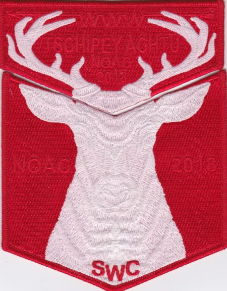 Tschipey Achtu Lodge #(95) 2018 NOAC Fundraiser Red Set S30 X16