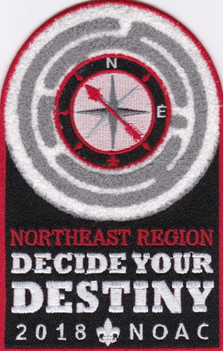 Northeast Region 2018 NOAC Chenille