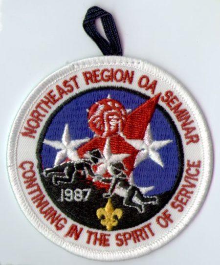 1987 Northeast Region OA Seminar