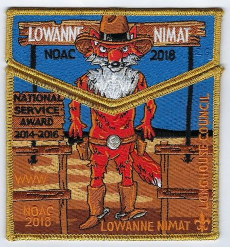 Lowanne Nimat Lodge #219 2018 NOAC Fundraiser set S43 X24