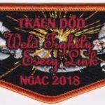 Tschipey Achtu Lodge #(95) Section NE-3A 2018 NOAC Flap S32