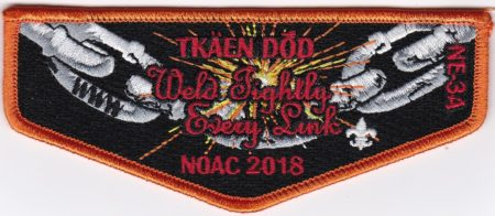 Tkaen DoD Lodge #30 Section NE-3A 2018 NOAC Flap S47