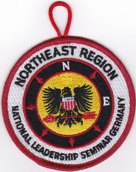 Northeast Region 2012 NLS Germany Staff Patch