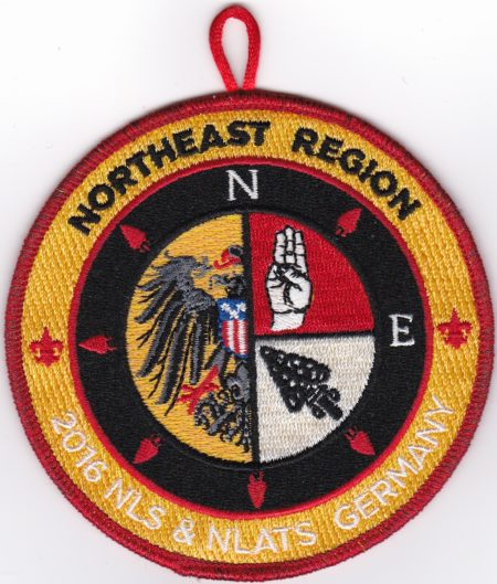 Northeast Region 2016 NLS & NLATS Germany Staff Patch