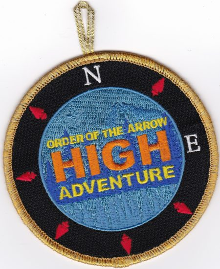 Northeast Region OA High Adventure Fundraiser Patch - GMY Border