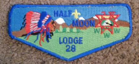 Half Moon Lodge #28 Service Flap S40