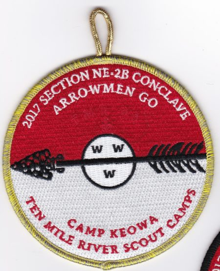 Section NE-2B 2017 Conclave VIA Pocket Patch