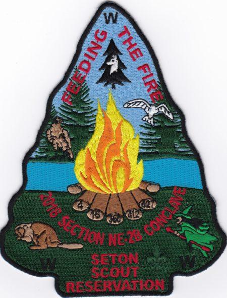 Section NE-2B 2018 Conclave Jacket Patch
