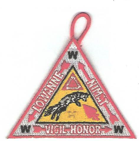 Lowanne Nimat Lodge #219 Vigil Patch X23