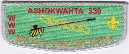 Ashokwahta Lodge #339 2018 NE-3A Conclave Hosts SMY Border S29