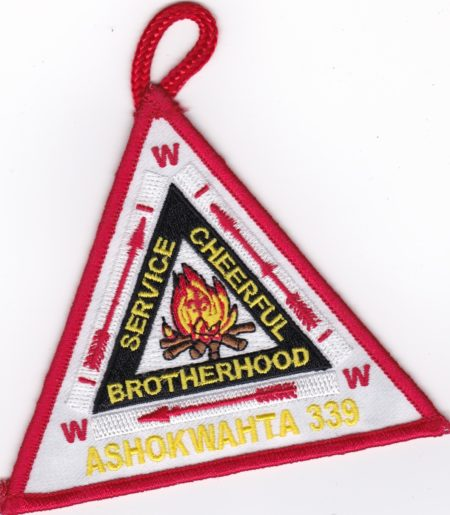 Ashokwahta Lodge #339 Vigil Patch X6