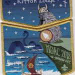 Kittan Lodge #364 2018 NOAC Midgard Serpent GMY Border Set S50 X32